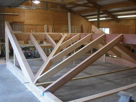 timber frame fabrication